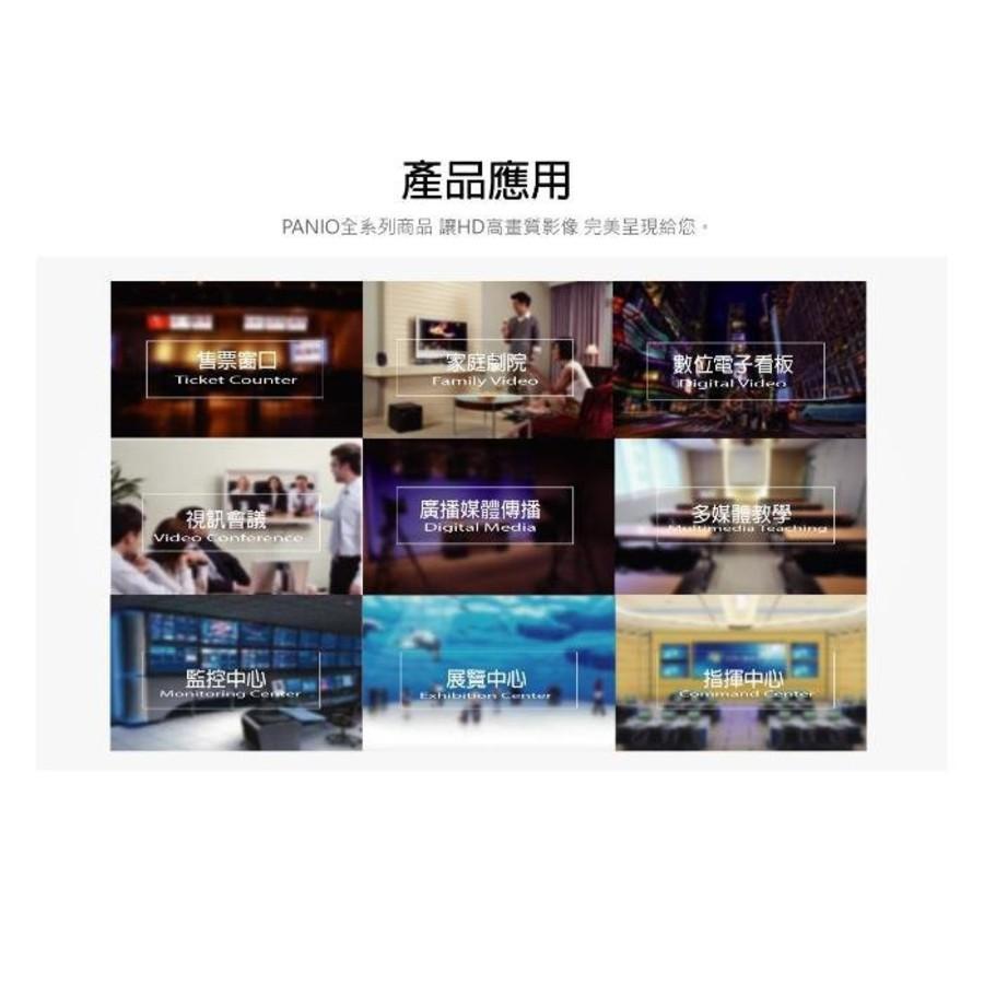 PANIO 訊號延長管理器 【CH2010F】 HDMI 光纖 支援雙向IR RS-232 內建SC單模模組