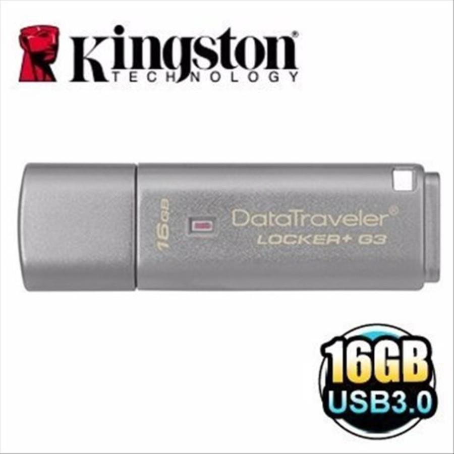 DTLPG3-16GB-金士頓 【DTLPG3/16GB】 16G DataTraveler Locker+ G3 加密隨身碟
