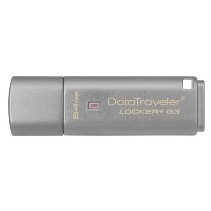 DTLPG3-64GB-金士頓 【DTLPG3/64GB】 64G DataTraveler Locker+ G3 加密隨身碟