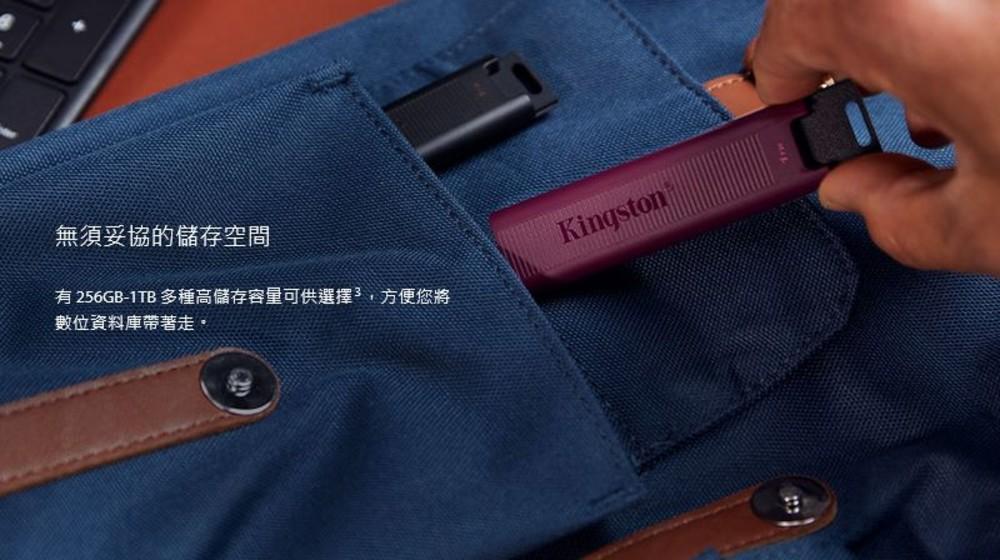 【DTMAX/256GB】 金士頓 256GB 隨身碟 只支援 TYPE-C 介面 高速 5年保固