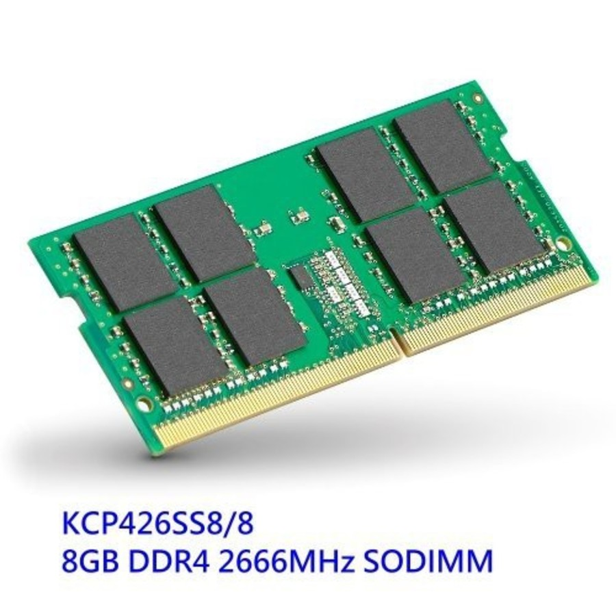 KCP426SS8-8-【KCP426SS8/8】 金士頓 筆記型記憶體 8GB DDR4-2666 品牌筆記型電腦專用