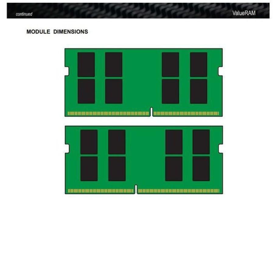 【KVR26S19D8/32】 金士頓 筆記型記憶體 32GB DDR4-2666  So-Dimm