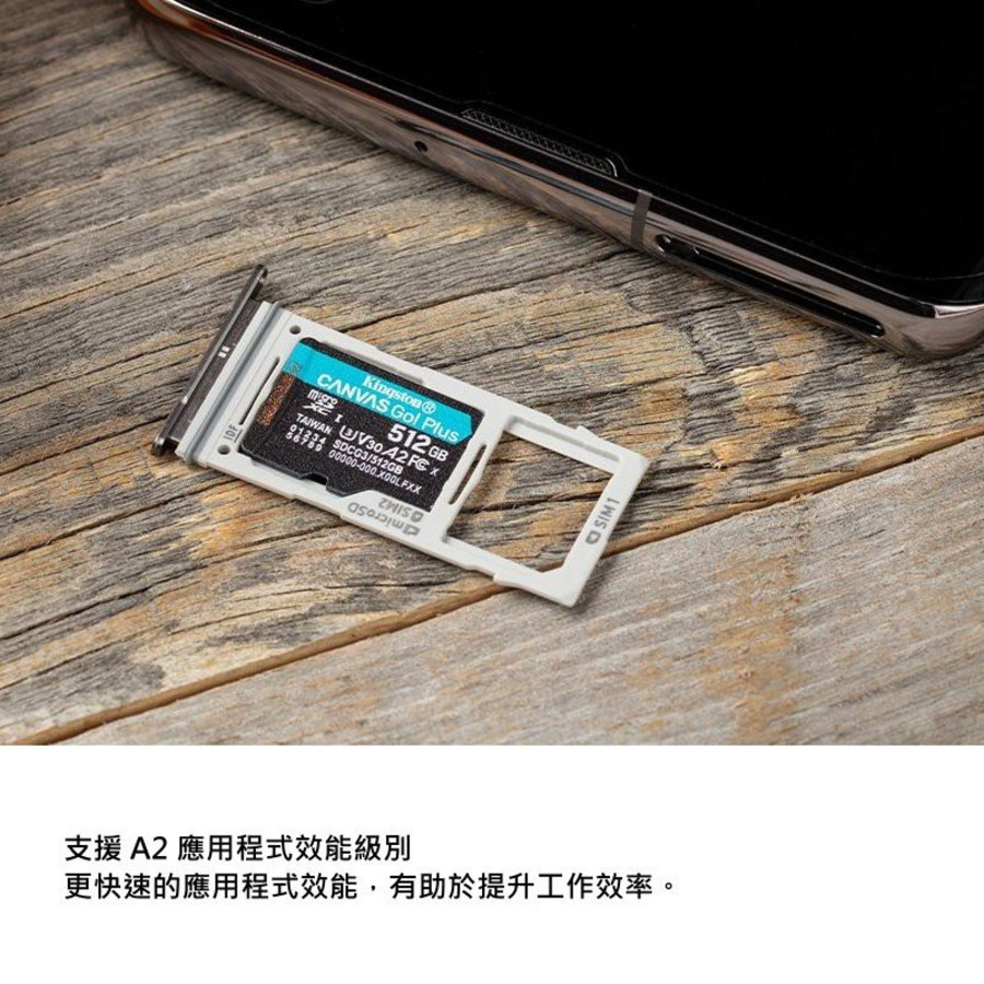 【SDCG3/128GB】 金士頓 手機記憶卡 128GB U3 A2 每秒讀170MB寫90MB