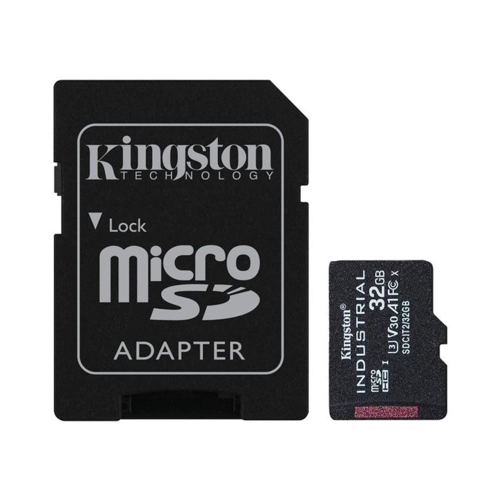 SDCIT2-32GB-【SDCIT2/32GB】 金士頓 32GB 工業用 Micro-SD 記憶卡 pSLC 模式 3年保固