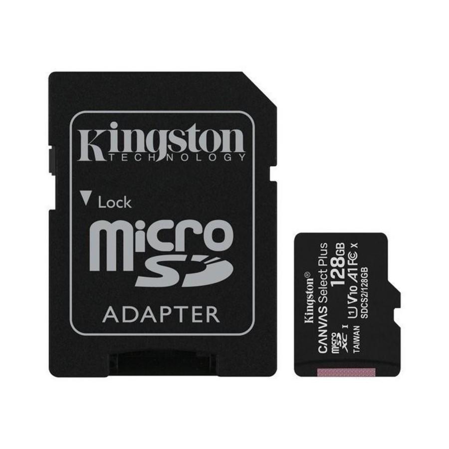 SDCS2-128GB-【SDCS2/128GB】 金士頓 記憶卡 128G Micro-SDXC A1 讀100MB/s 手機可用