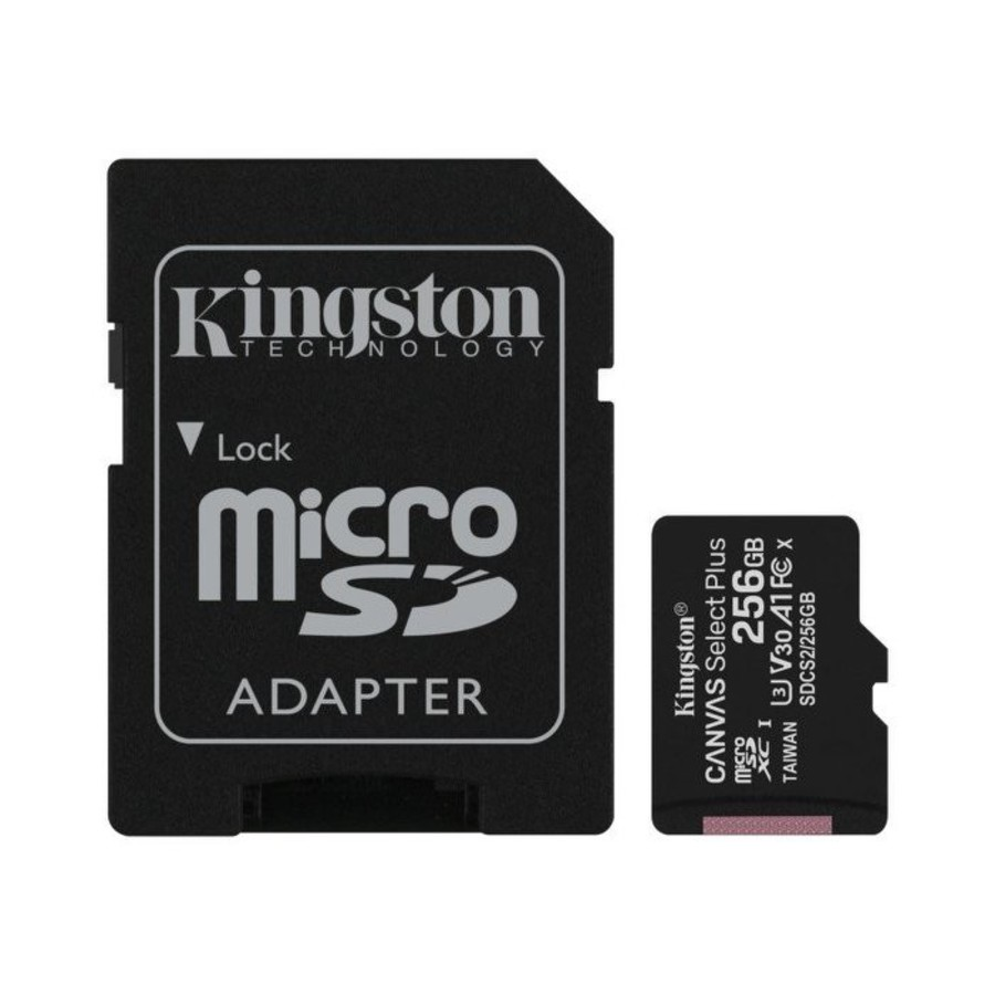 SDCS2-256GB-【SDCS2/256GB】 金士頓 手機用記憶卡  256G Micro-SDXC A1 讀100MB/s