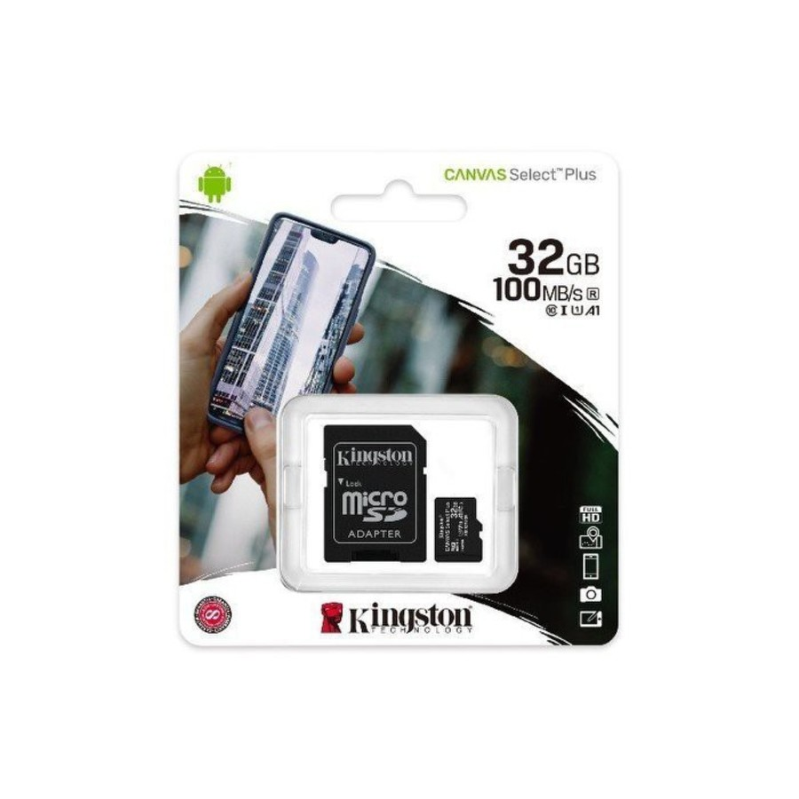 【SDCS2/32GB】 金士頓 記憶卡 32G Micro-SDXC A1 讀100MB/s 手機可用
