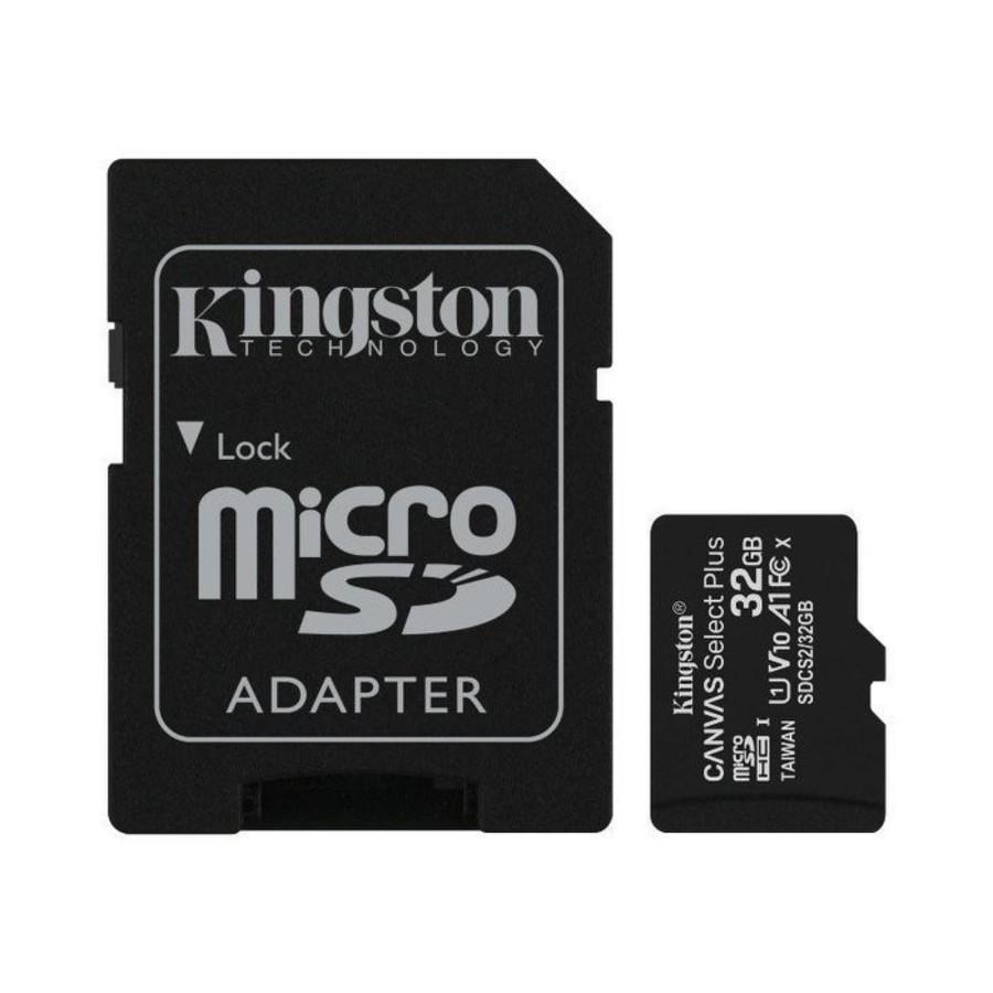 SDCS2-32GB-【SDCS2/32GB】 金士頓 記憶卡 32G Micro-SDXC A1 讀100MB/s 手機可用