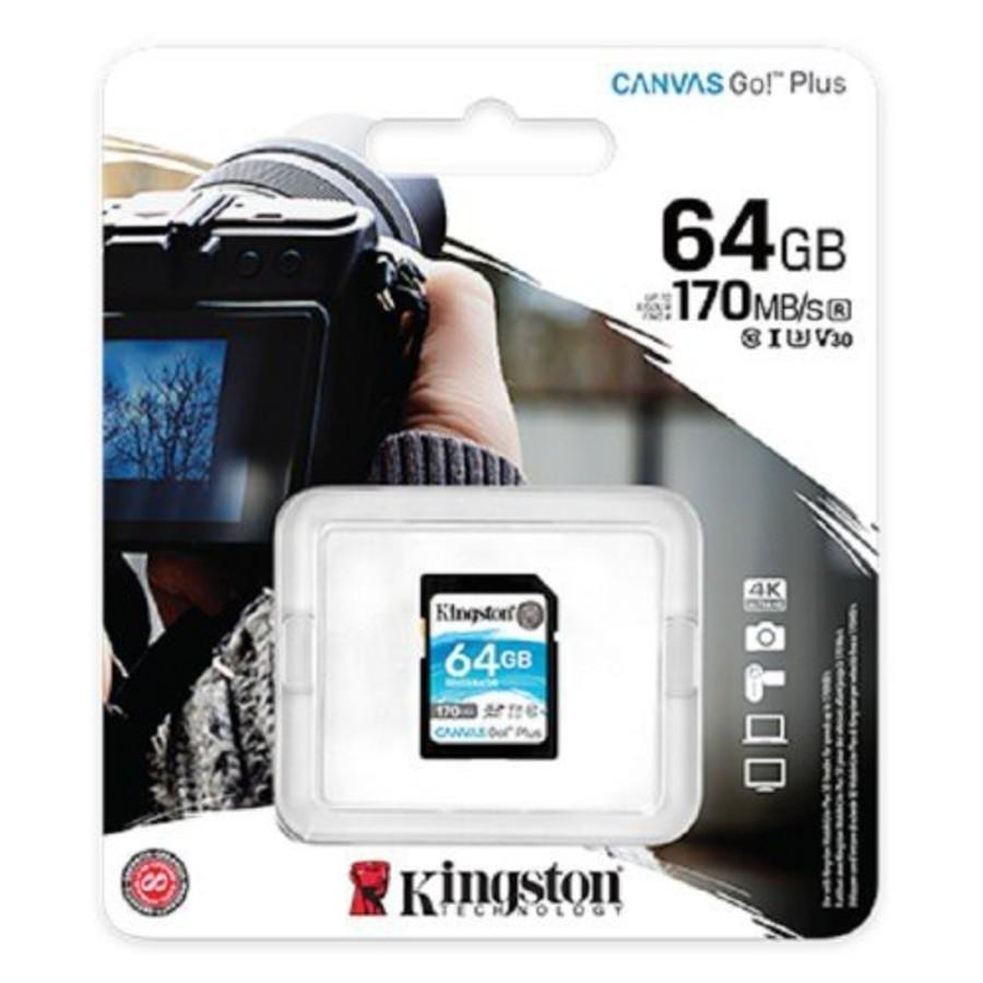 【SDG3/64GB】 金士頓 64GB SDXC 記憶卡 U3 V30 每秒讀170MB寫70MB