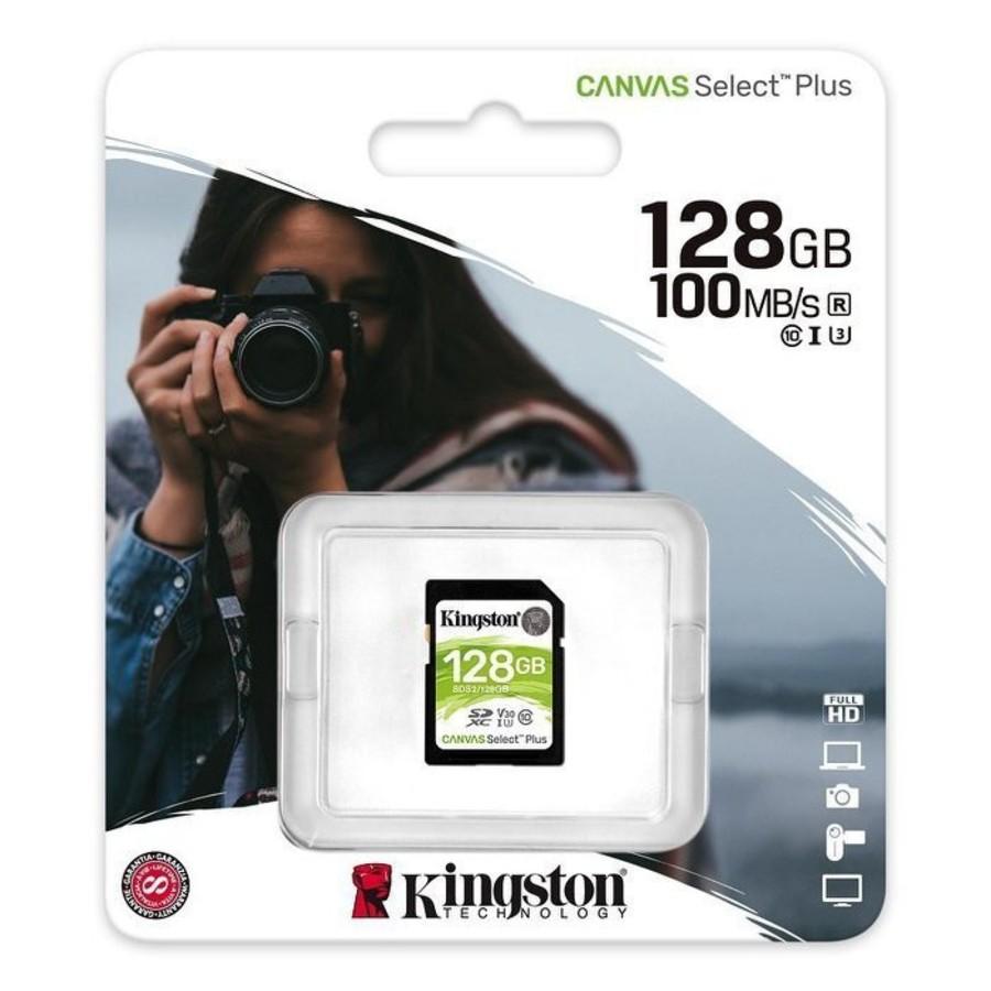 【SDS2/128GB】 金士頓 記憶卡 128G SDXC 讀100MB/s 相機 一般錄影設備 使用
