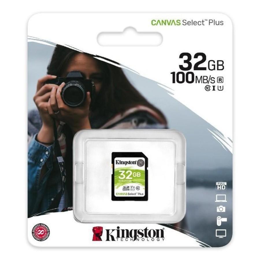 【SDS2/32GB】 金士頓 記憶卡 32G SDHC 讀100MB/s 相機 一般錄影設備 使用