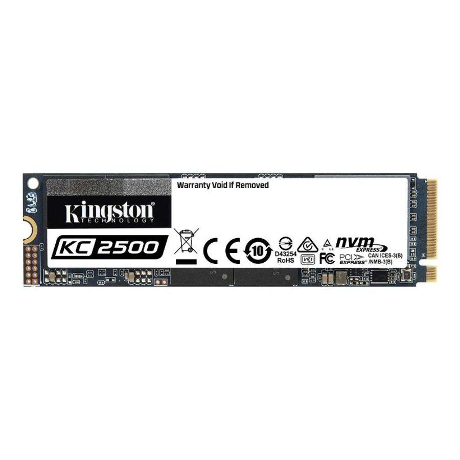 【SKC2500M8/2000G】 金士頓 M.2 固態硬碟 2TB KC2500 SSD 2280 封面照片
