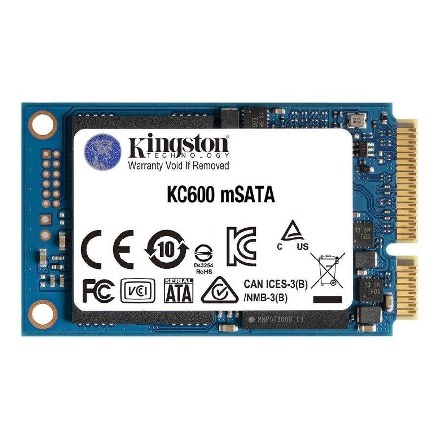 SKC600MS-512G-【SKC600MS/512G】 金士頓 mSATA SSD 512GB 固態硬碟 KC600 5年保固