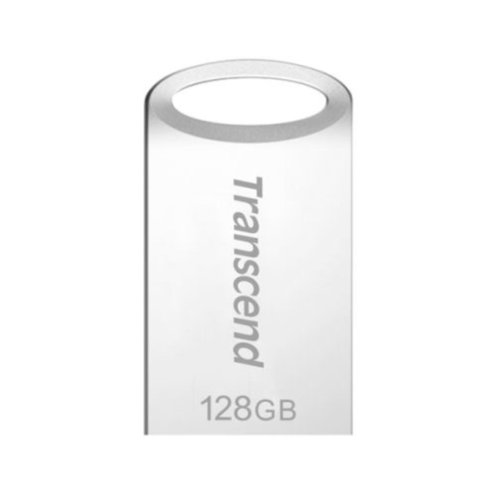 TS128GJF710S-【TS128GJF710S】 創見 JF710 128GB USB 3.1 霧面銀 金屬外殼 短版 隨身碟