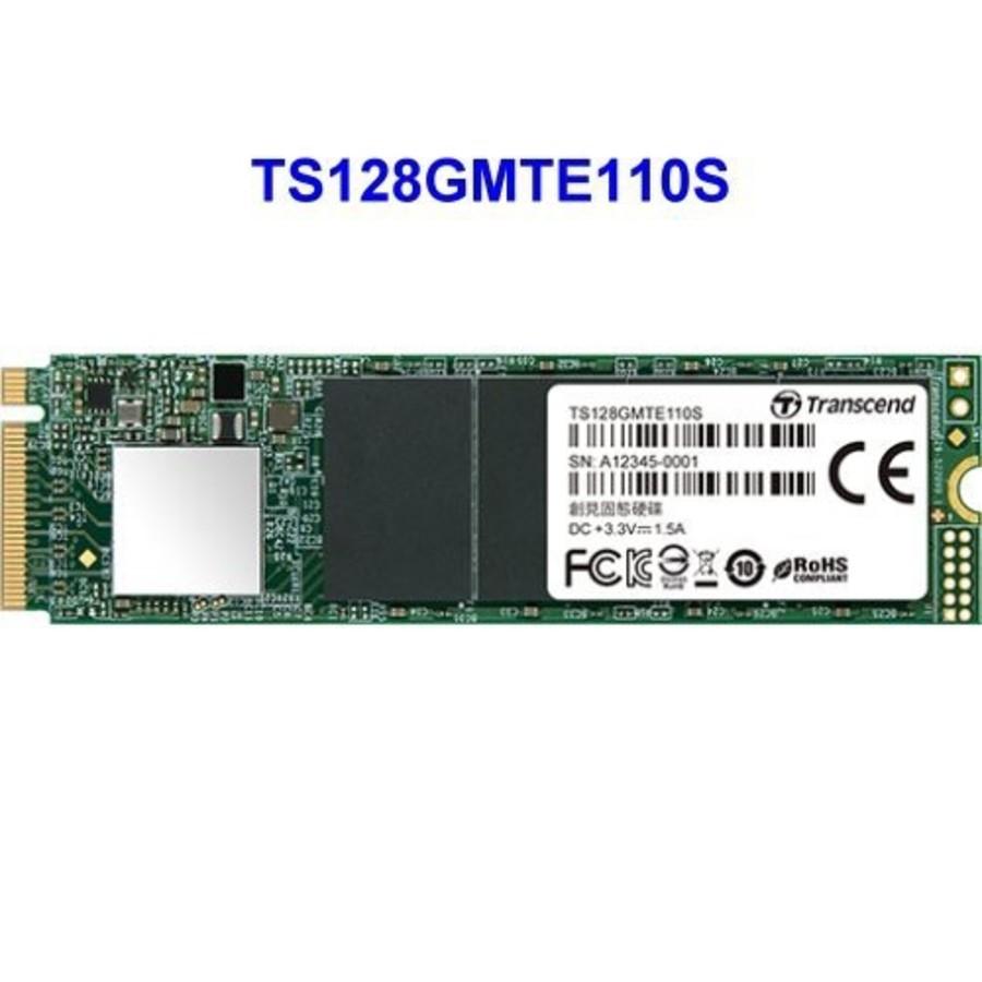 TS128GMTE110S-創見 固態硬碟 【TS128GMTE110S】 PCIe M.2 SSD 110S 128GB NVMe支援