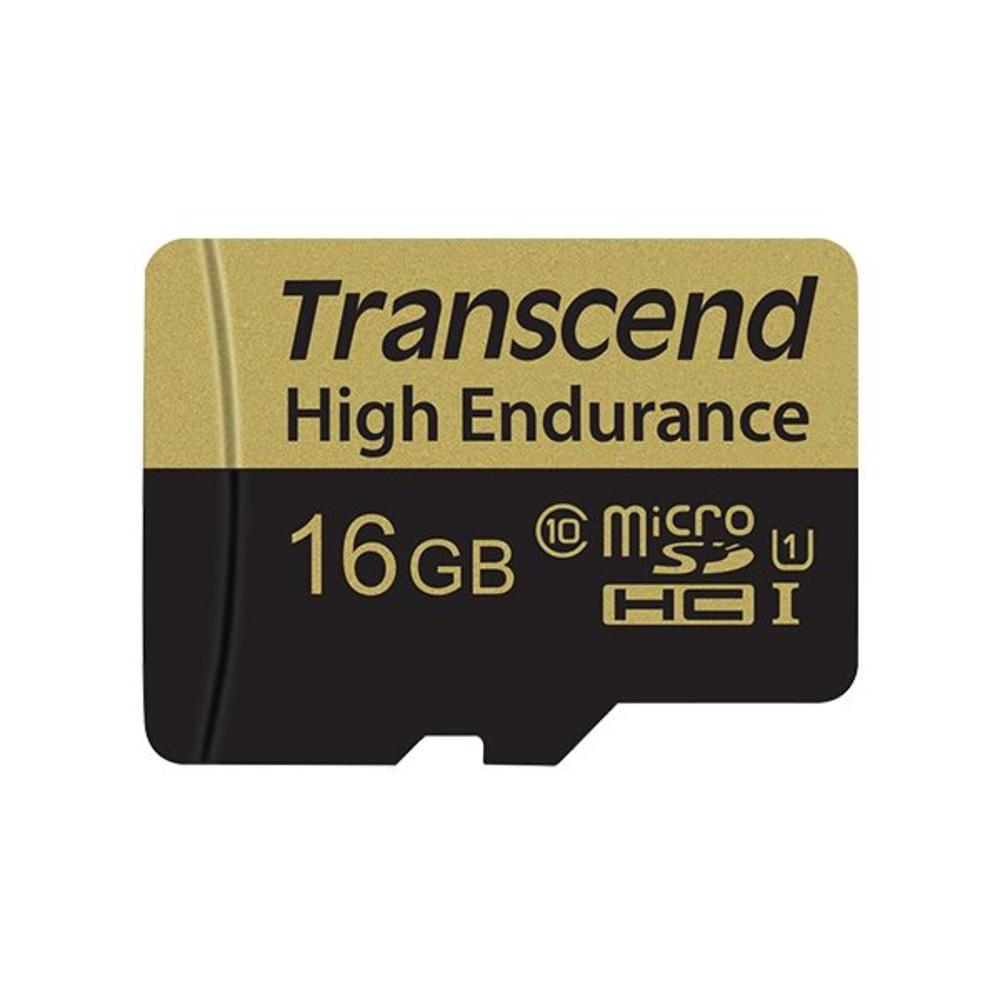 TS16GUSDHC10V-創見 高耐用記憶卡 【TS16GUSDHC10V】 16GB MLC MicroSD 行車紀錄器錄影專用