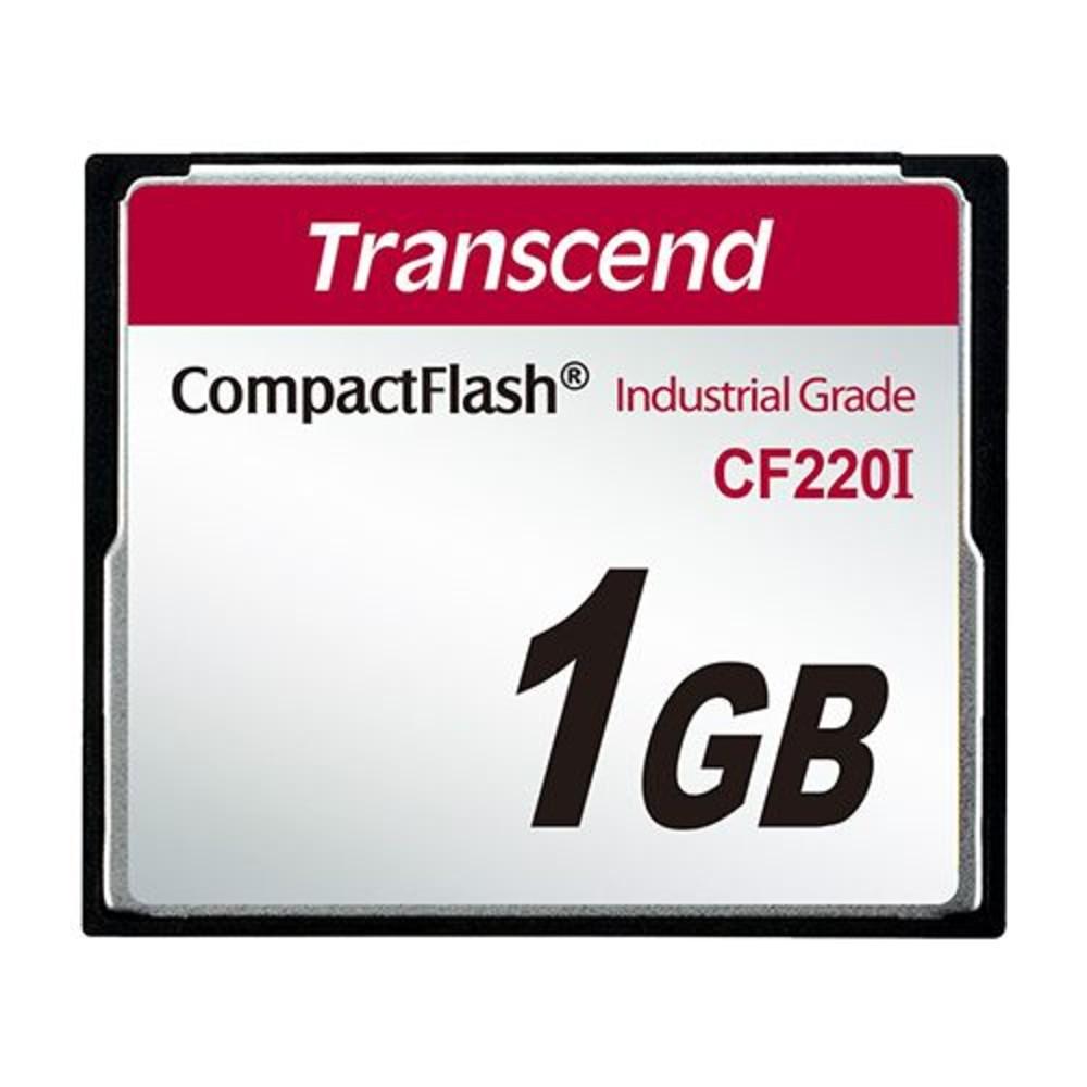 TS1GCF220I-創見 記憶卡 【TS1GCF220I】 1GB 220X CF工業卡 耐震耐高溫
