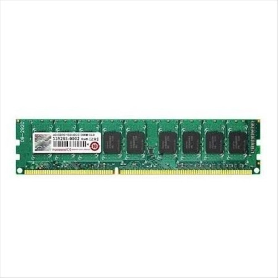 TS1GLK72V6H-創見 伺服器記憶體 【TS1GLK72V6H】 8GB DDR3-1600 ECC 單條8G
