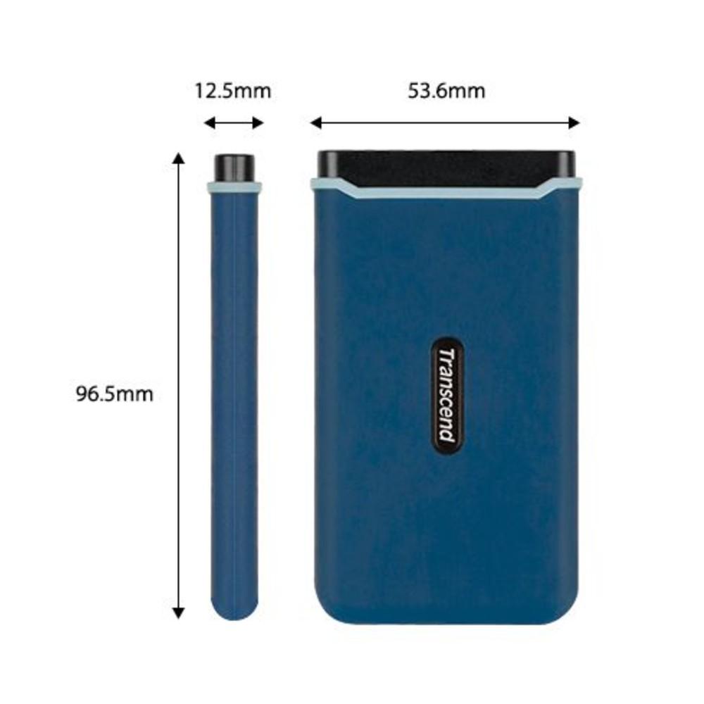 創見 行動固態硬碟 【TS1TESD370C】 1TB SSD 370C Type-c Typec 超快1050MB/s