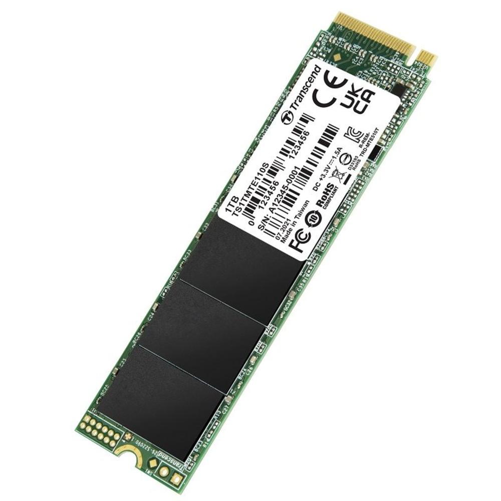 TS1TMTE110S-創見 固態硬碟 【TS1TMTE110S】 PCIe M.2 SSD 110S 1TB NVMe支援