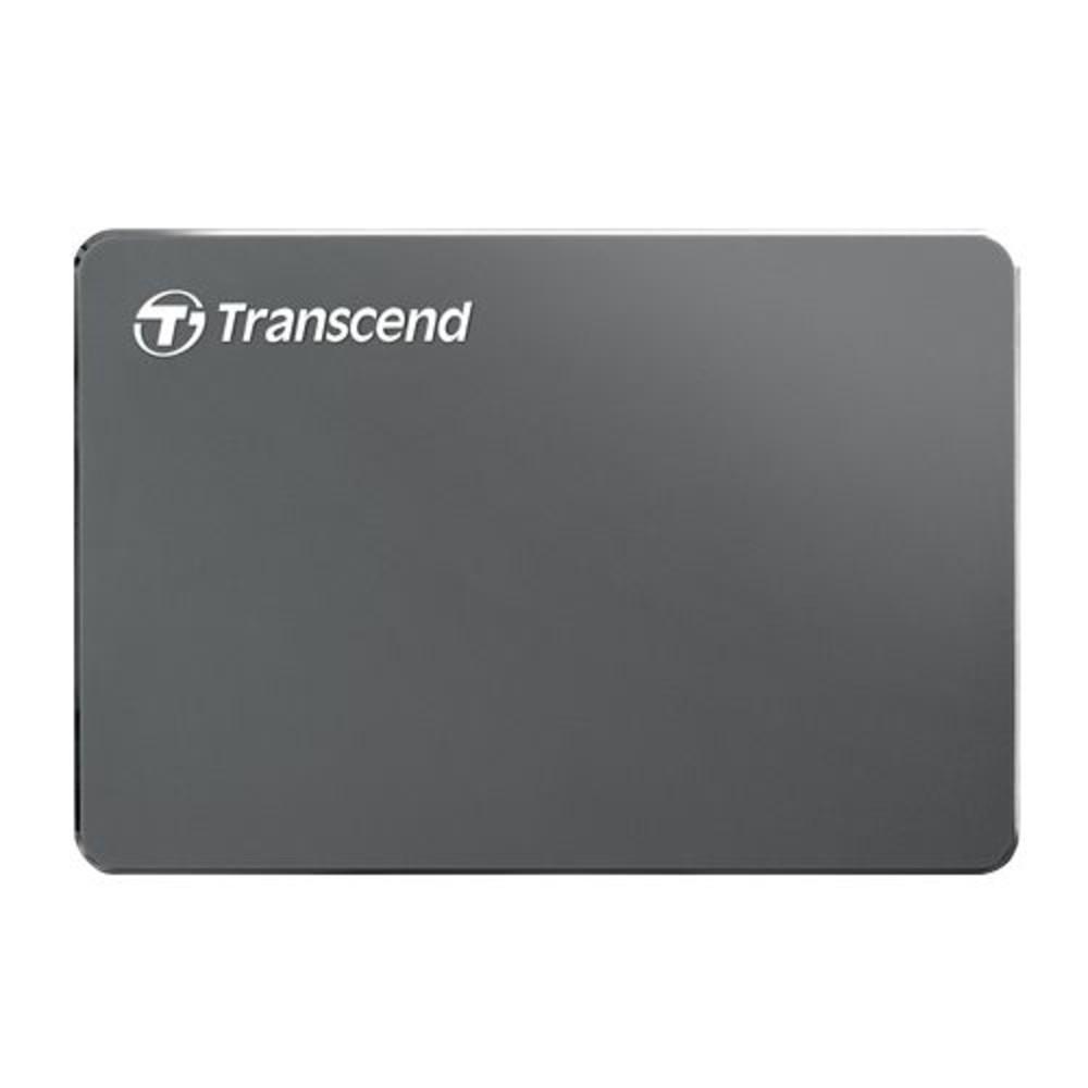 TS1TSJ25C3N-創見 行動硬碟 【TS1TSJ25C3N】 1TB USB3.0 鋁殼設計 輕巧奢華