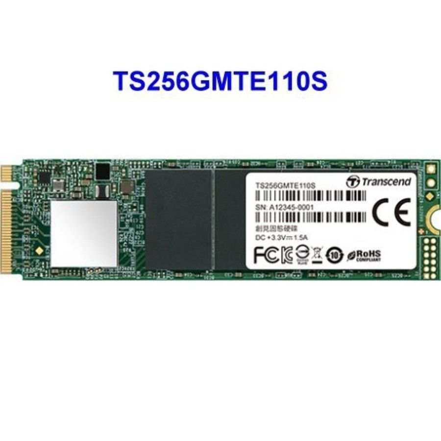 TS256GMTE110S - 創見 固態硬碟 【TS256GMTE110S】 PCIe M.2 SSD 110S 256GB NVMe支援
