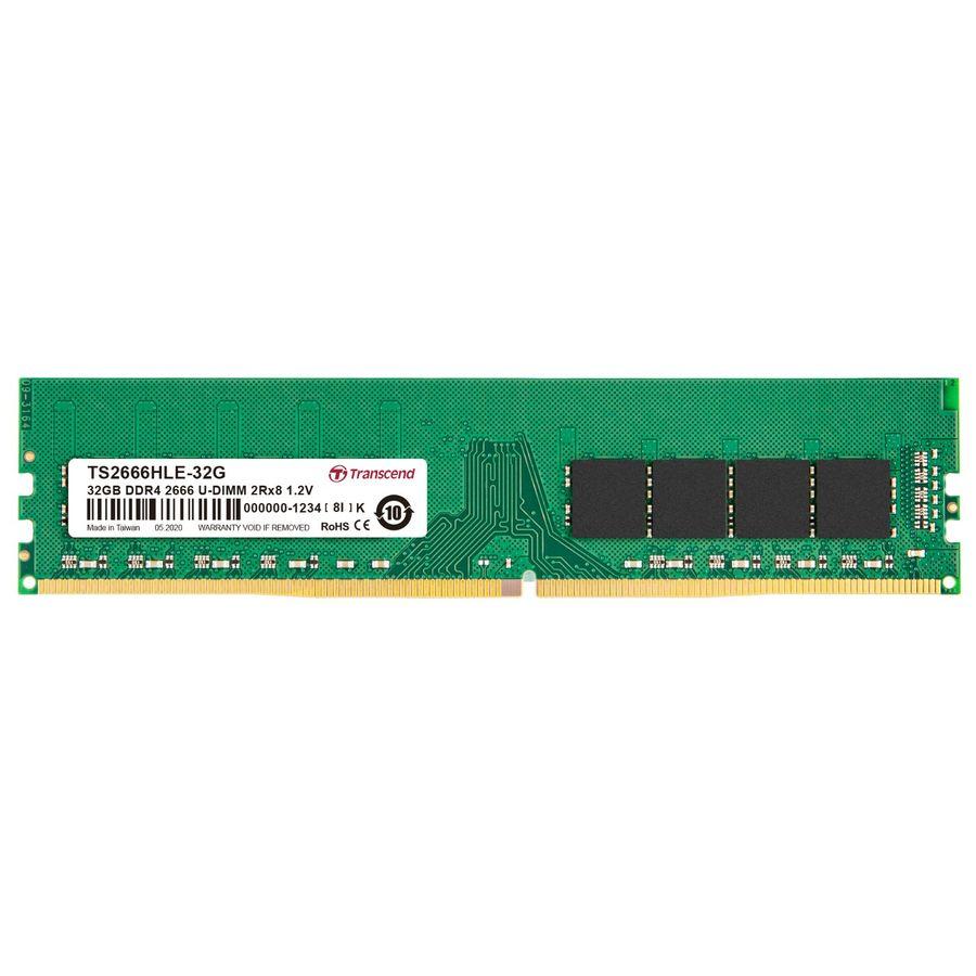 【TS2666HLE-32G】 創見 32GB 桌上型記憶體 封面照片