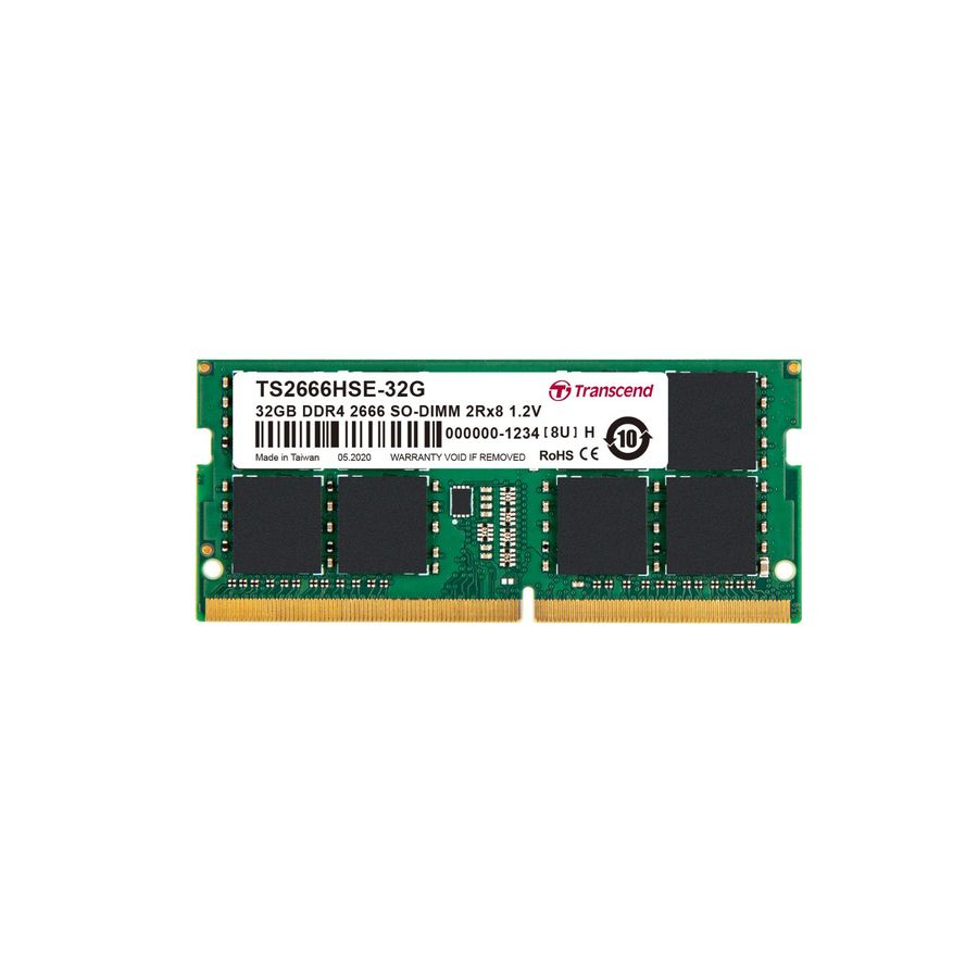 TS2666HSE-32G-【TS2666HSE-32G】 創見 32GB 筆記型記憶體 DDR4-2666 終身保固 1.2V 低耗電