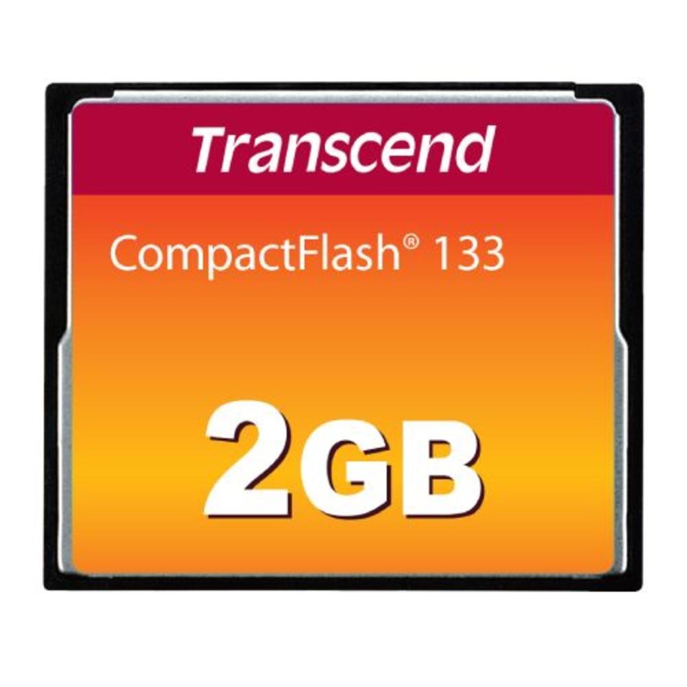 TS2GCF133-創見 記憶卡 【TS2GCF133】 2GB CF 133X 公司貨