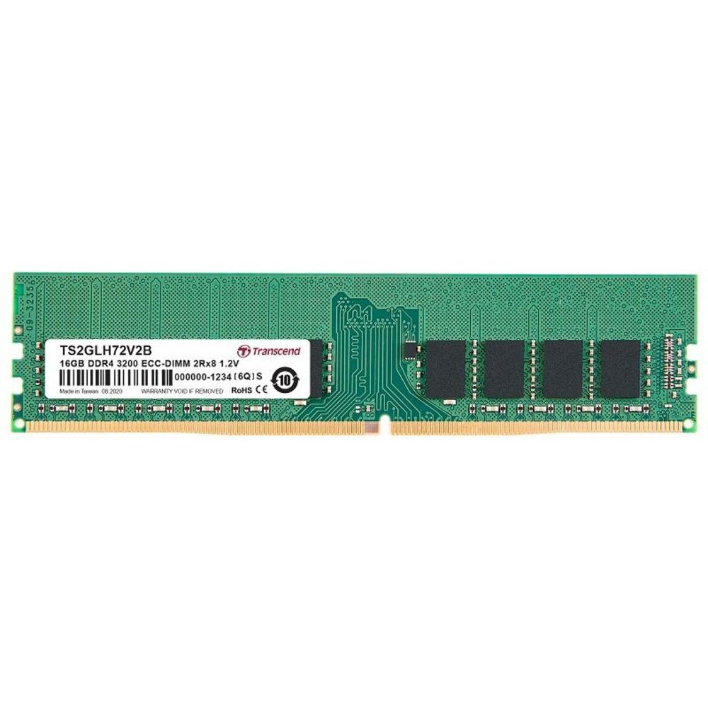 【TS2GLH72V2B】 創見 伺服器記憶體 16GB DDR4-3200 ECC RAM 1Gx8