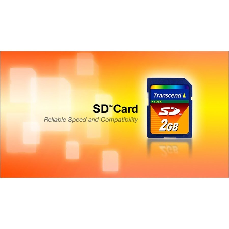 創見 記憶卡 【TS2GSDC】 2GB SD 5年保固