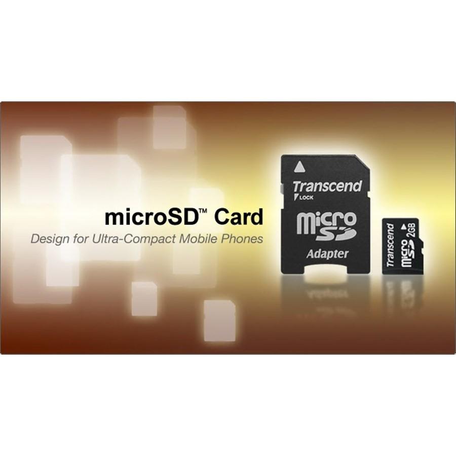 創見 記憶卡 【TS2GUSD-2】 2GB MicroSD Micro SD 送minisd轉卡