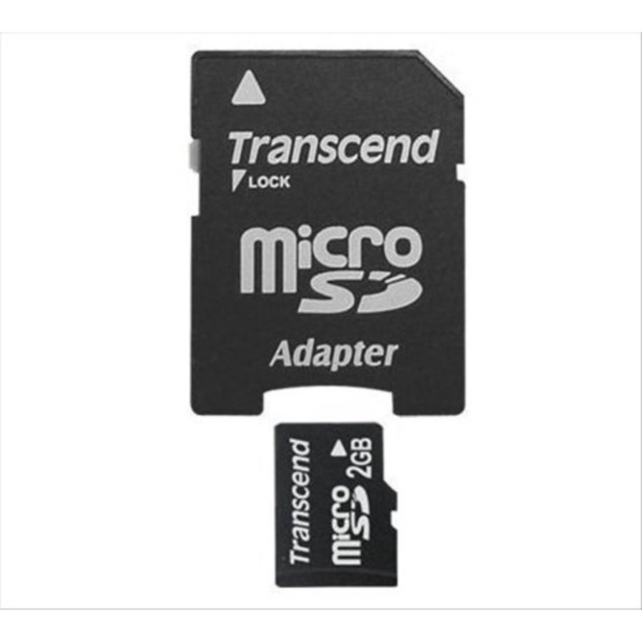 TS2GUSD-2-創見 記憶卡 【TS2GUSD-2】 2GB MicroSD Micro SD 送minisd轉卡