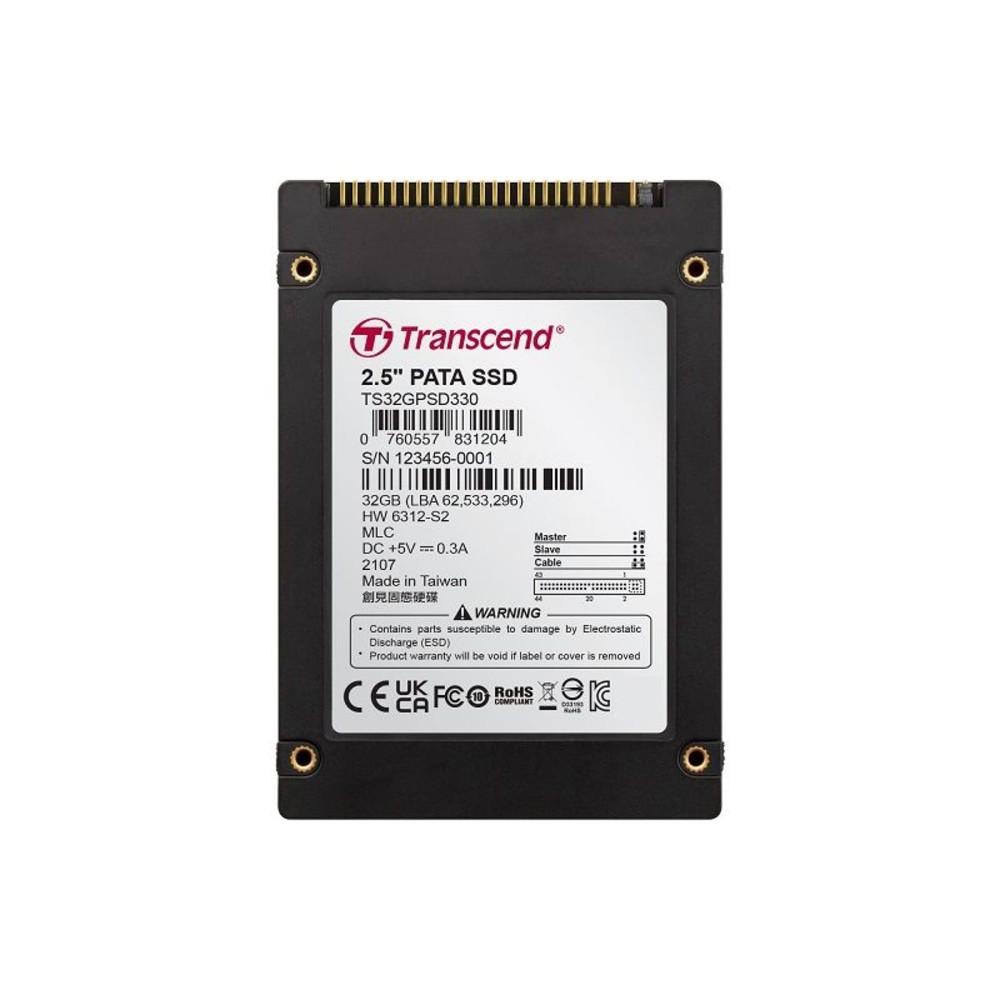 TS32GPSD330-創見 固態硬碟 【TS32GPSD330】 SSD 32G 2.5吋IDE介面