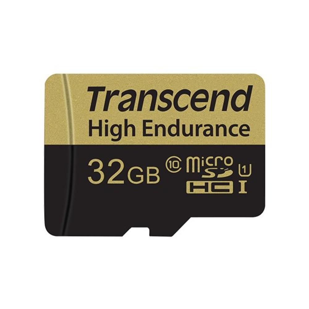 TS32GUSDHC10V-創見 高耐用記憶卡 【TS32GUSDHC10V】 32GB MLC MicroSD 行車紀錄器錄影專用