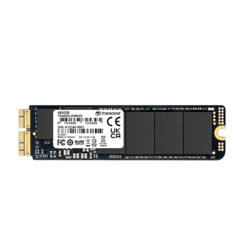 【TS480GJDM820】 創見 SSD 固態硬碟 480GB 更換 APPLE 固態硬碟 專屬套件組 封面照片
