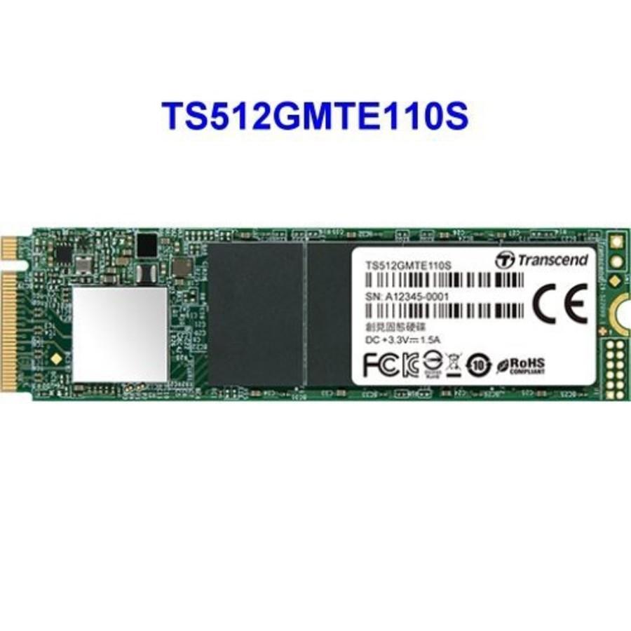 TS512GMTE110S-創見 固態硬碟 【TS512GMTE110S】 PCIe M.2 SSD 110S 512GB NVMe支援