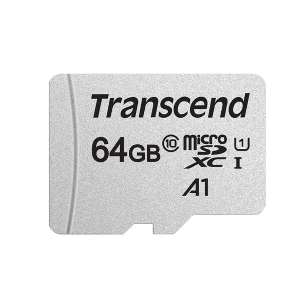TS64GUSD300S-A - 創見 記憶卡 【TS64GUSD300S-A】 300S 64GB Micro-SD 讀95MB U1
