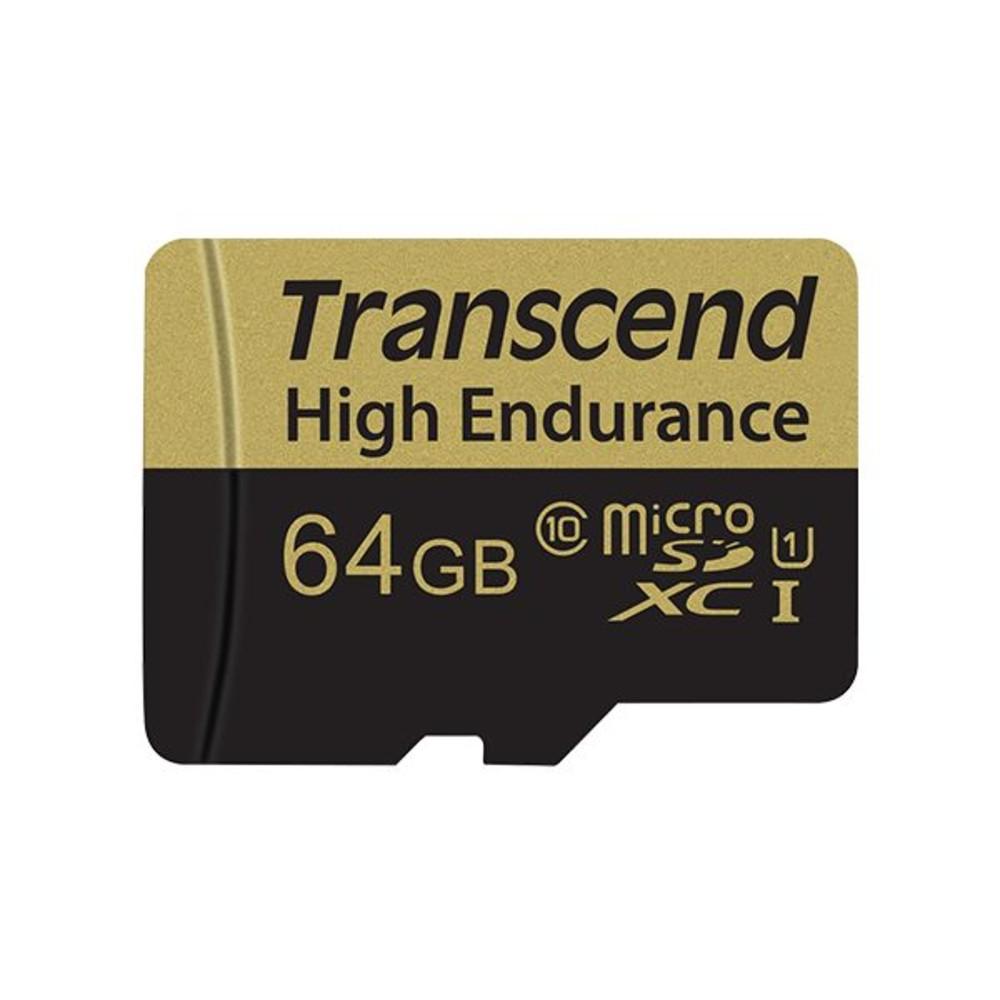 TS64GUSDXC10V-創見 高耐用記憶卡 【TS64GUSDXC10V】 64GB B MLC-SD小卡 行車紀錄器錄影專用