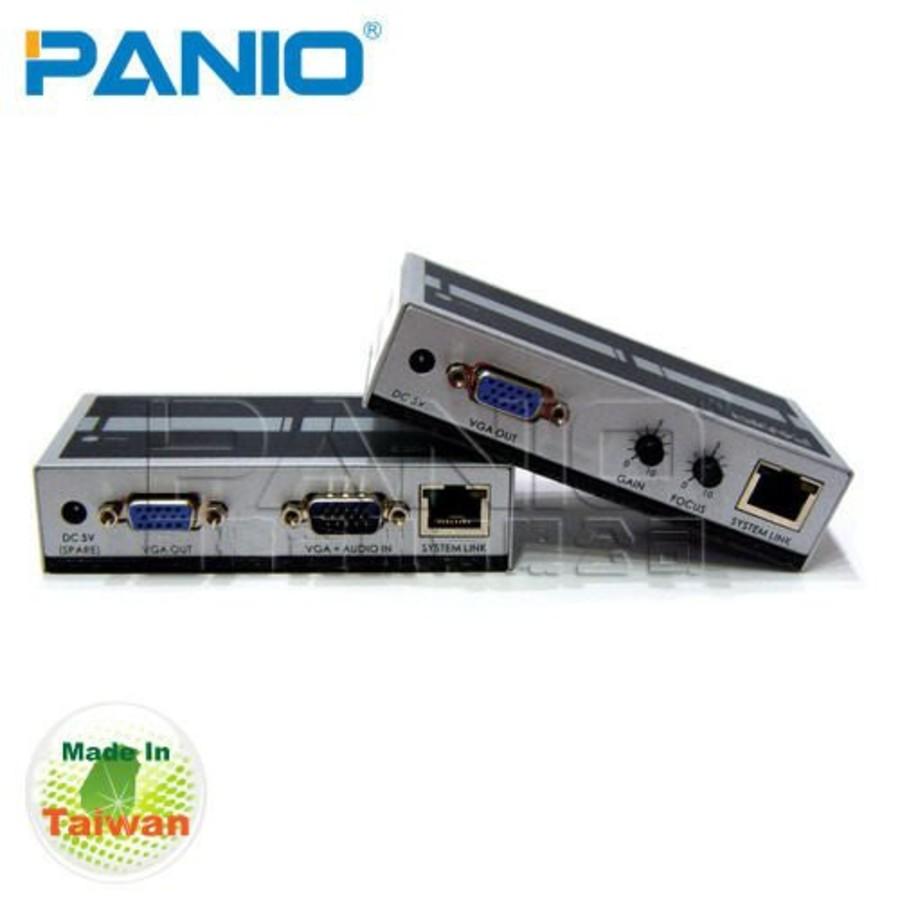 VE170-PANIO VGA影像延長器 【VE170】 透過Cat.5網路線延長170m